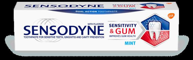 Sensodyne toothpaste - Sensitivity and Gum