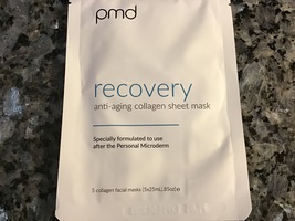 Pmd recovery anti-aging collagen mask - set of 5