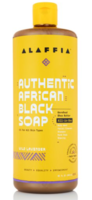 Authentic African Black Soap All-In-One, Wild Lavender
