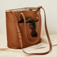 Henny + Lev Vegan Leather 2-in-1 Everyday Tote