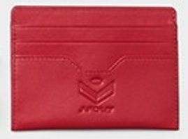 J. Fold Card Carrier - Red