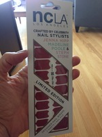NCLA Nail Wraps- Red