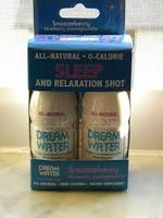 Dream Water sleep shot two-pack in Snoozeberry
