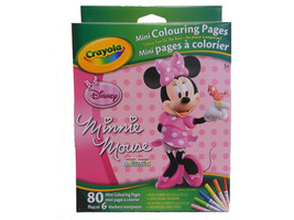 Minnie Mouse Mini Colouring pages