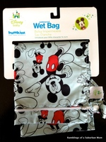 Bumkins Wet Bag - Classic Mickey Print