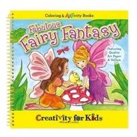 Faber-Castell Fabulous Fairy Fantasy Coloring & Artivity Book