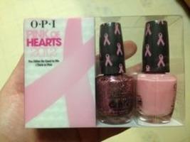 Opi Pink of Hearts nail polish set