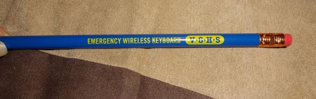 "VGHS (Video Game High School) ""Emergency Wireless Keyboard"" Pencil"