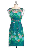 Modcloth Water Garden Dress