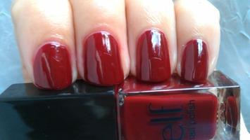ELF Mini Nail Polish - Cherry Bomb