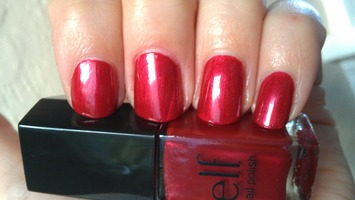 ELF Mini Nail Polish - Red-y or Not