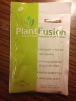 PlantFusion chocolate protein shake