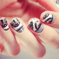 Pizzo Lace Nail Wraps by NCLA