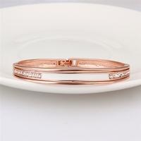 cate & chloe linda pretty rose gold bracelet