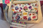 "FFF VIP summer 2014 Thursday Friday Away Mini Clutch/Makeup Bag in ""watercolor floral"" NOT EVEN AVAILABLE ON WEB SITE $35.00 **UPDATE: I am now including $30.00 Gift Certificate to Thursday Friday**"