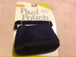 Paci Pouch in Black