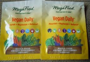 MegaFood Vegan Daily Whole Foods Capsules