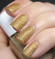 Julie G Textured Nail Polish 'Gift of Gold'