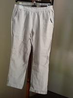 Jolie Cropped Linen Pants