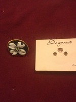 Handcrafted Porcelain Dogwood Pin