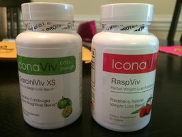 IconaViv Garcinia Cambogia and Raspberry Keotones