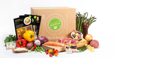HelloFresh $40 Off Your First Box Voucher Card
