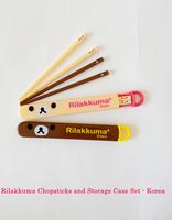 Rilakkuma Chopsticks with Storage Case