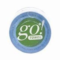 go towel 100% organic bamboo compressed towels