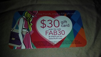 $30 Thursday Friday Gift Card