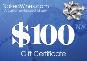 $100 Naked Wines Gift Card