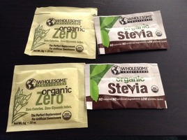 Wholesome Sweeteners Organic Zero and Stevia