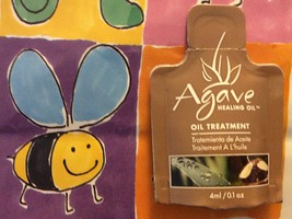 Extra from July 2014 Birchbox Agave Healing Oil Treatment in sample size (4ml/0.1oz)