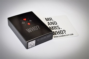 Mr. and Mrs. Who? Playing Cards