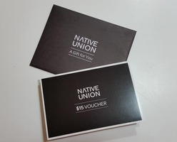 Native union $15 voucher. Free with swap