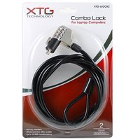 XTG TECHNOLOGY Combo Lock for Laptop Computers