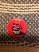 Small Cupcake Pin