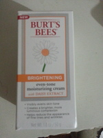 Burts Bees brightening even-tone moisturizing cream