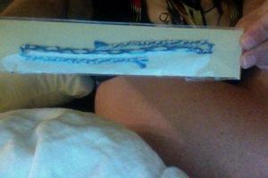 Blue and White Friendship Bracelets by Woven Joy