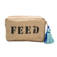 """From the Birchbox """"Free for All"""" box: FEED Exclusive FEED 10 Pouch (retail $16.00 for 7"""" x 4"""" x 2"""" bag)"""