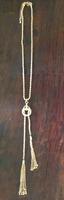 Gold Lariat Necklace