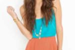 Petal Shorts-Rust