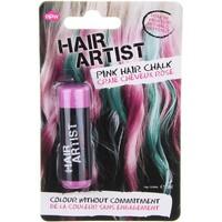 hair artist hair chalk in Pink