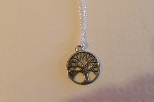 Tree of Life Silver necklace and chain
