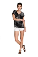 Etched Print Top
