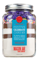 The Mason Jar Cookie Company Festive Celebrate Cookie Mix