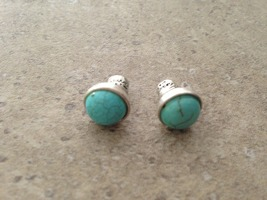 Kenneth Cole Turquoise Stud Earrings