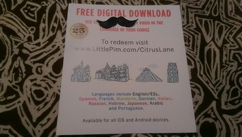 Language Video Digital Download from Little Pim