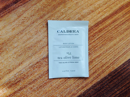 Caldrea Body Lotion in Tea Olive Lime