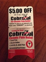 CobraZol Chronic Pain Relief Gel