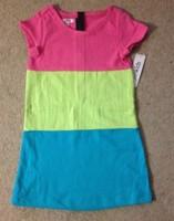 Fabkids Color Block Dress